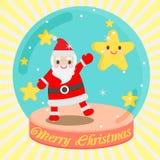Leuke kerstman Royalty-vrije Stock Afbeelding