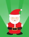 Leuke Kerstman Stock Afbeelding