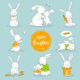 Leuke kleine konijntjes Stock Foto's