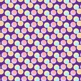 Leuke kleurrijke abstracte inzamelingen als achtergrond die vormen, geometrisch, malplaatjesontwerp stock illustratie