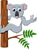 Leuke koala vector illustratie