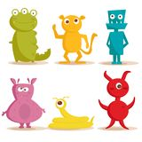 Leuke monsters Stock Foto