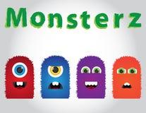 Leuke Monsters Stock Fotografie