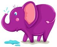 Leuke olifant Royalty-vrije Stock Afbeelding