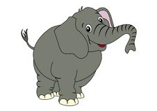 Leuke olifant Royalty-vrije Stock Foto