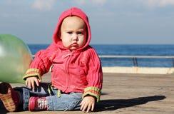 Leuke oude baby van 10 maanden Stock Fotografie
