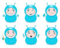 Leuke robots vector illustratie