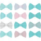 Leuke Roze Vlinderdasinzameling vector illustratie