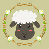 Leuke schapenVector Stock Fotografie