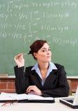 Leuke schoolleraar Stock Afbeeldingen