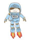 Leuke Spaceboy Stock Foto