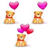 Leuke teddyberen Royalty-vrije Stock Foto's