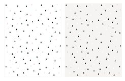 Leuke Uiterst kleine Abstracte Driehoeks Vectorpatronen Helder Pastelkleurenontwerp royalty-vrije illustratie