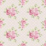 Leuke uitstekende naadloze sjofele elegante bloemenpatronen voor uw decoratie Stock Foto's