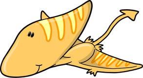 Leuke VectorDinosaurus Stock Afbeeldingen