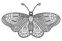 Leuke vlinder royalty-vrije stock foto