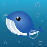Leuke walvis Royalty-vrije Stock Afbeelding