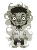Leuke Weerwolf stock illustratie