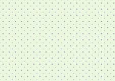 Leuke zoete purpere stippen met het lichtgroene ontwerp kalk van het achtergrondmalplaatjepatroon Royalty-vrije Stock Foto's