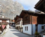 Leukerbad, Switzerland. Royalty Free Stock Image