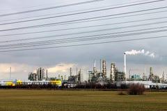 Leuna. Chemical industry Leuna near Bitterfeld, Germany royalty free stock image