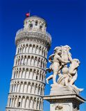 Leunende Toren, Pisa Royalty-vrije Stock Afbeeldingen