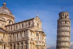 Leunende toren van Pisa royalty-vrije stock foto's