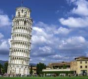Leunende toren van Pisa Royalty-vrije Stock Fotografie