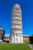 Leunende toren van Pisa Stock Fotografie