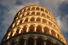 Leunende Toren van Pisa Italië royalty-vrije stock foto's
