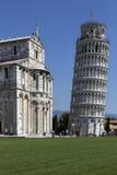 Leunende Toren van Pisa - Pisa - Italië Royalty-vrije Stock Foto
