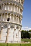 Leunende Toren van Pisa - Pisa - Toscanië - Italië Royalty-vrije Stock Afbeelding