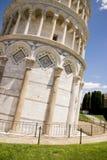 Leunende Toren van Pisa - Pisa - Toscanië - Italië Stock Fotografie
