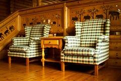 Leunstoel Stock Foto