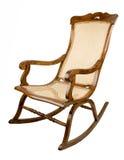 Leunstoel-schommelende stoel Stock Foto