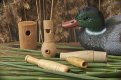 Leurres et sifflements de canard Photo libre de droits