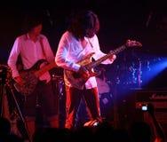 Leus de Chen del guitarrista Fotos de archivo