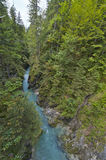 Leutasch Gorge Royalty Free Stock Photography