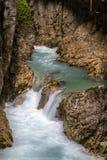 Leutasch gorge Royalty Free Stock Photo