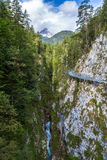 Leutasch gorge Royalty Free Stock Images