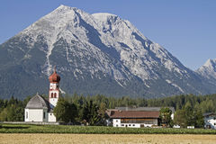Leutasch in Tyrol Stock Photography
