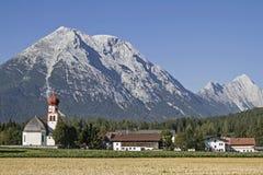 Leutasch in Tyrol Stock Image