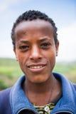 Leute in AKSUM, ÄTHIOPIEN Stockbild