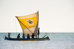 Leute in ANTANANARIVO, MADAGASKAR Lizenzfreies Stockbild