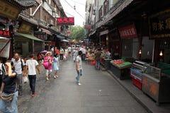 Leute am arabischen Markt von Xian Stockfoto