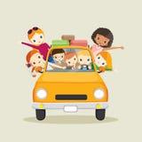 Leute auf dem Autofahren zu reisen Stockfoto