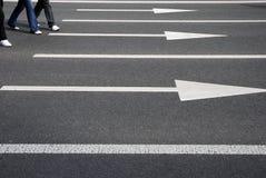 Leute auf der Straße Lizenzfreie Stockbilder