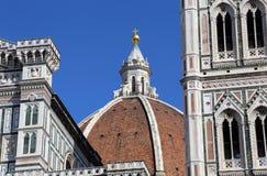 Leute auf die Haube der Kathedrale von Florenz, Italien Lizenzfreie Stockfotografie