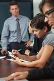 Leute auf Geschäftstraining Lizenzfreie Stockfotos
