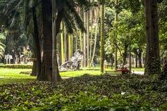 Leute auf Luz Public Park Stockfotos